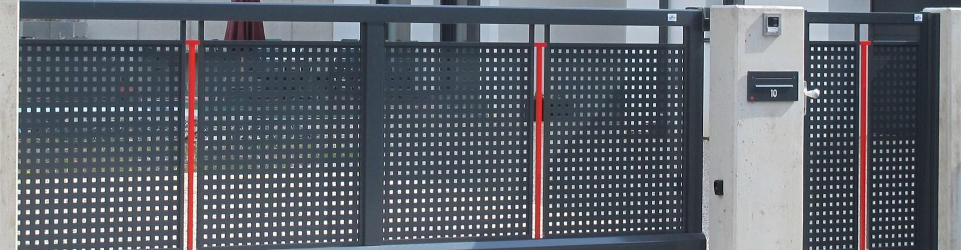 Einfahrtstore - Zweiflügeltore, Schiebetore Privat, Schiebetore Industrie