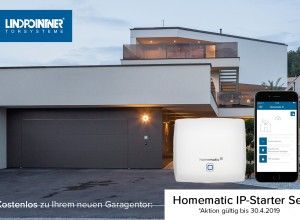 Lindpointner Smart Home - Aktion Homematic für Garagentore