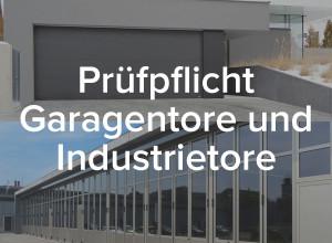 Wartung Garagentore und Industrietore