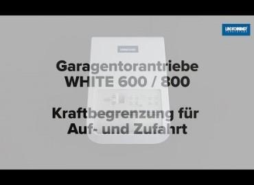 LINDPOINTNER Antrieb | WHITE 1000 - Kraftbegrenzung AUF/ZU (DE)