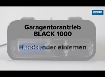 LINDPOINTNER Antrieb - BLACK 1000 | Handsender einlernen (DE)