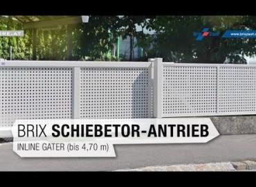 BRIX - InlineGater Antrieb für Schiebetore | Produktvideo