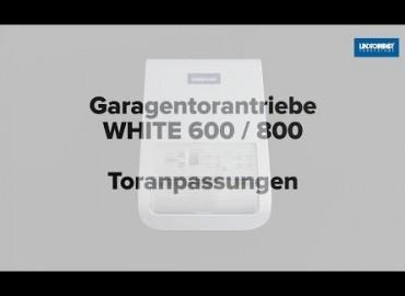 LINDPOINTNER Antrieb | WHITE 1000 - Auswahl Tortyp (DE)