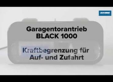 LINDPOINTNER Antrieb | BLACK 1000 - Kraftbegrenzung AUF/ZU (DE)