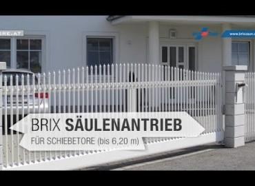 BRIX - Säulenantrieb für Schiebetore | Produktvideo