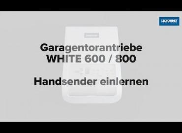 LINDPOINTNER Antrieb | WHITE 1000 - Handsender einlernen (DE)