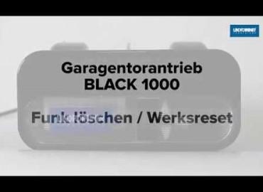 LINDPOINTNER Antrieb | BLACK 1000 - Funk löschen und Werksreset (DE)